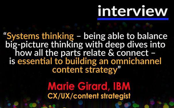 Omnichannel strategy implementation at IBM – Marie Girard interview (30 Minutes)