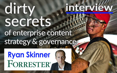 Featured Speaker Interview: Ryan Skinner, Forrester (34 Min w Transcript)