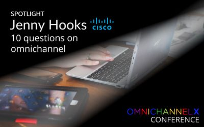 Cisco's Jenny Hooks answers 10 questions on omnichannel marketing, content strategy and cross-channel experience