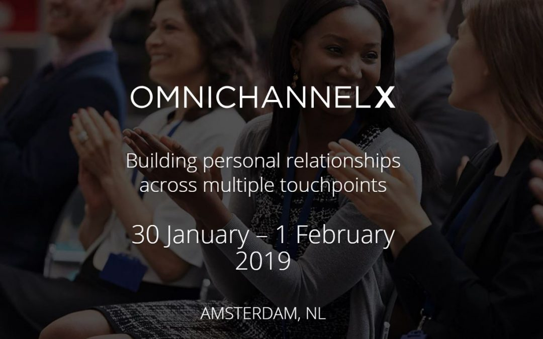 Service design sessions for omnichannel at OmnichannelX 2019